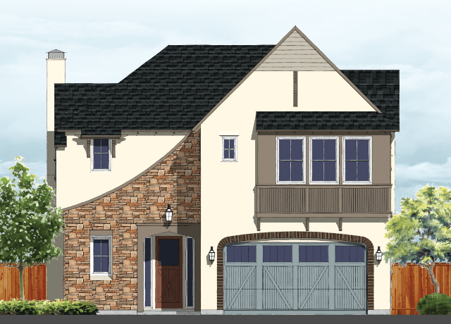 Exterior featured in the Residence 3 By BlackPine Communites in Sacramento, CA