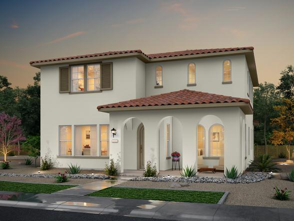 Exterior featured in the Alley Row Collection Residence 7 By BlackPine Communites in Sacramento, CA