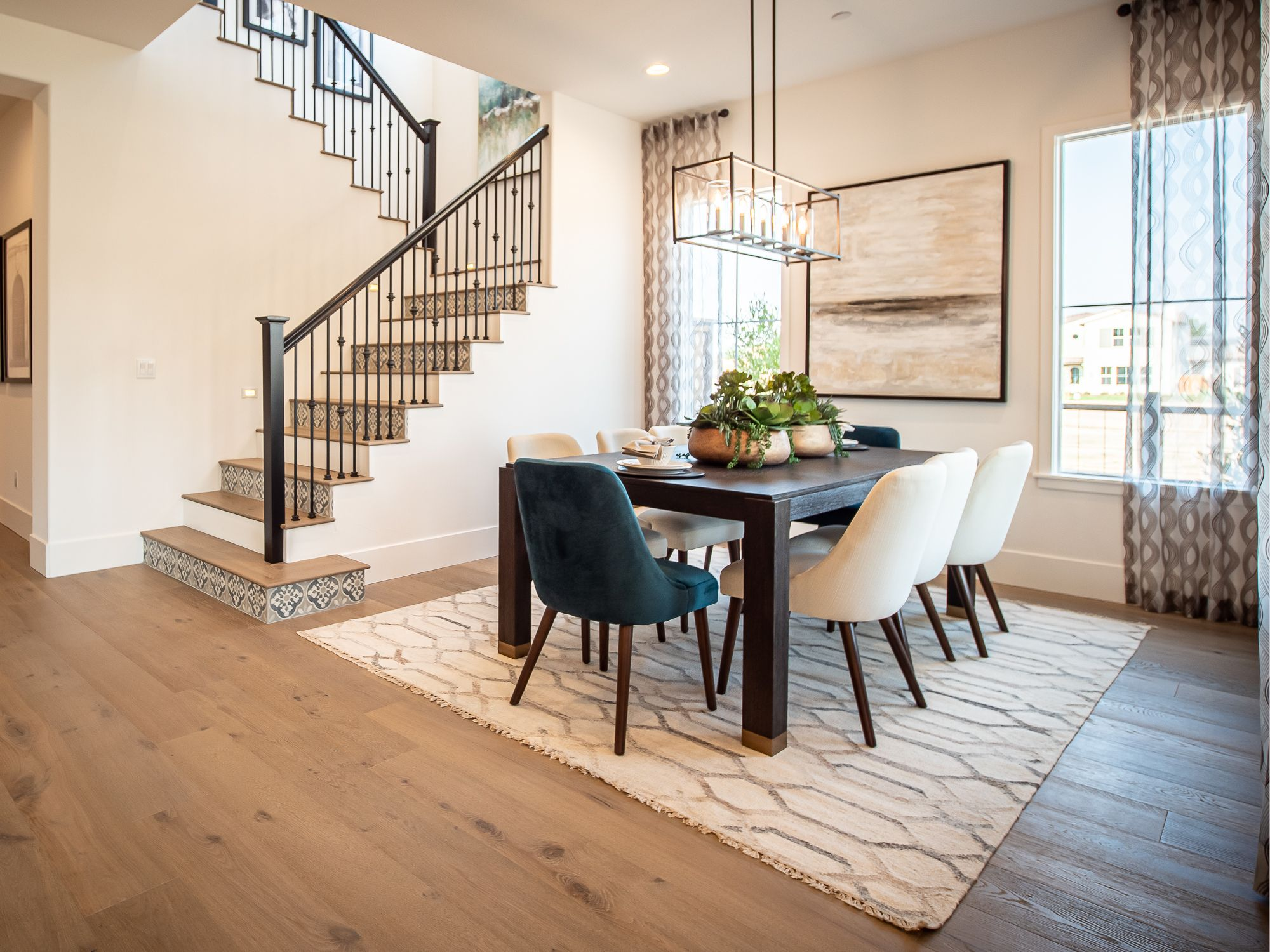 Living Area featured in the Alley Row Collection Residence 8 By BlackPine Communites