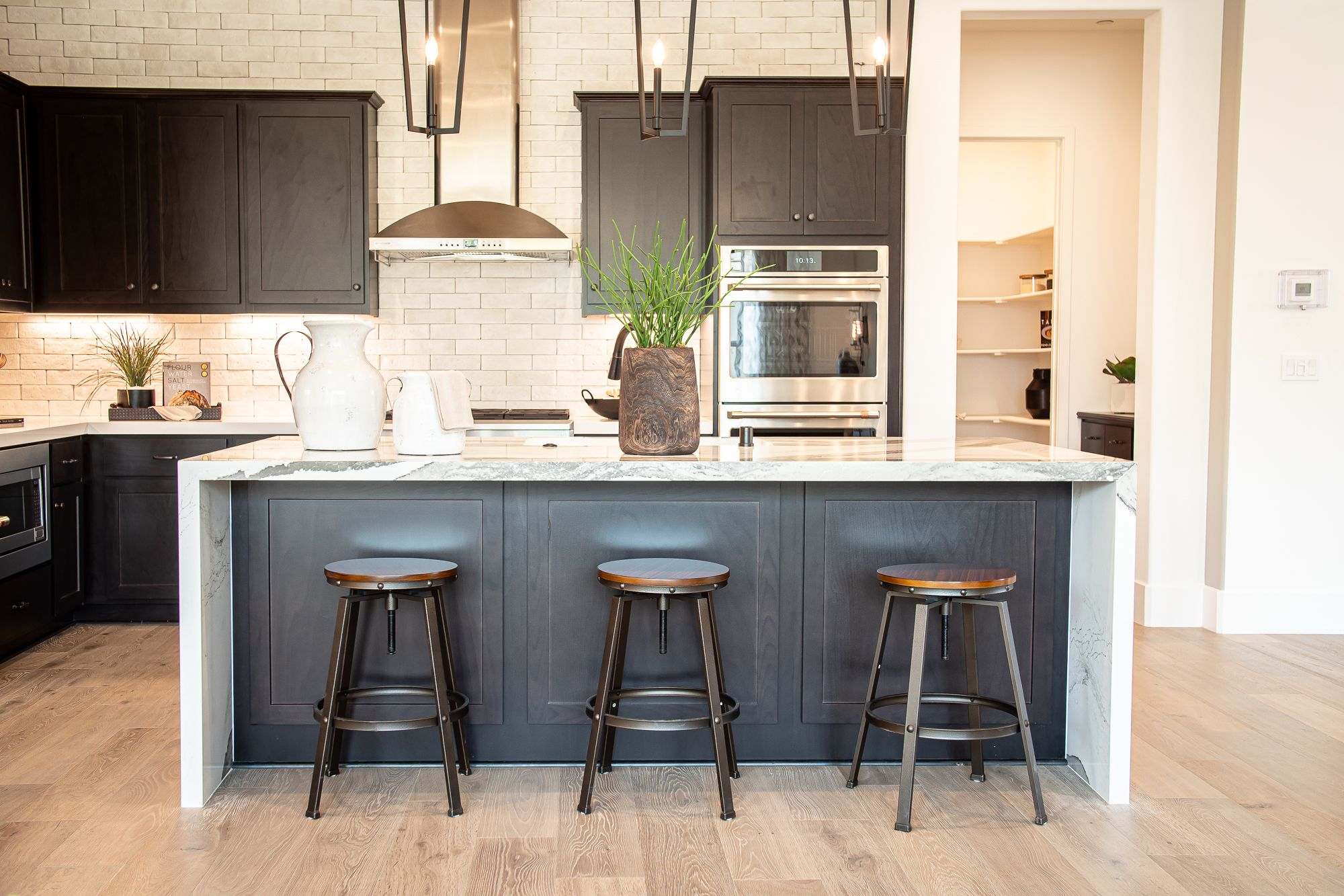 Kitchen featured in the Alley Row Collection Residence 8 By BlackPine Communites in Sacramento, CA