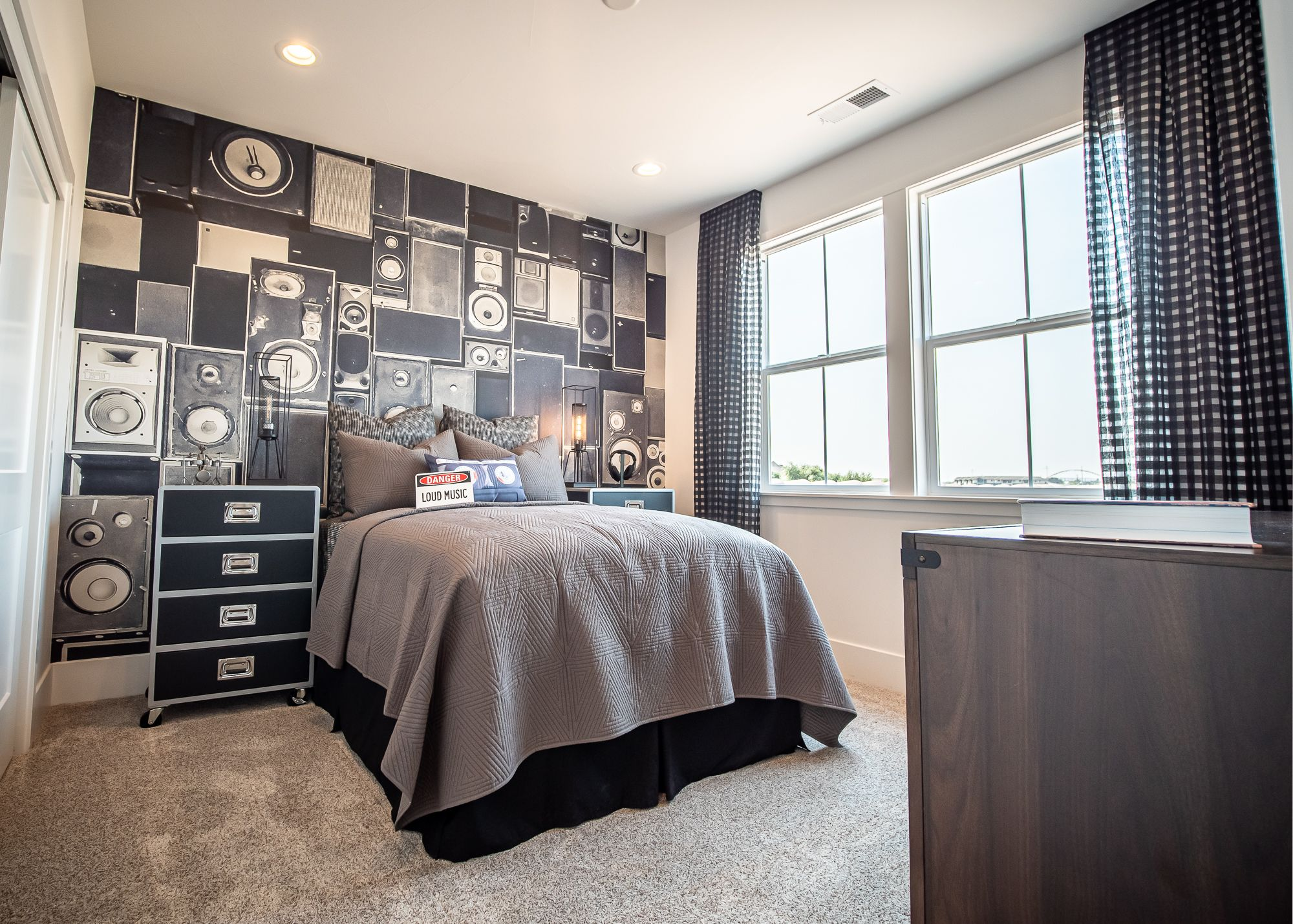 Bedroom featured in the Alley Row Collection Residence 8 By BlackPine Communites in Sacramento, CA