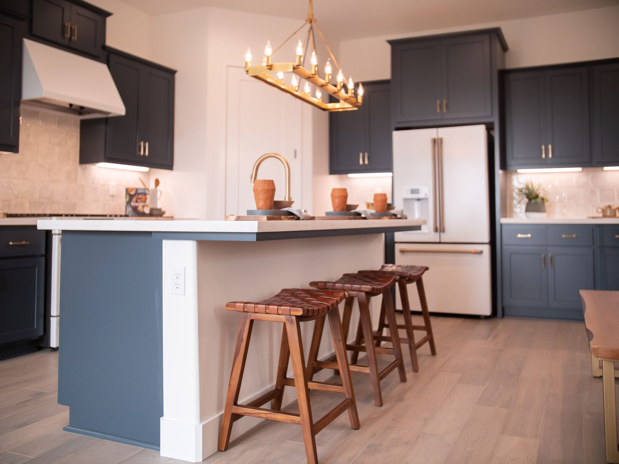 Kitchen featured in the Village Courts Collection Residence 9 By BlackPine Communites