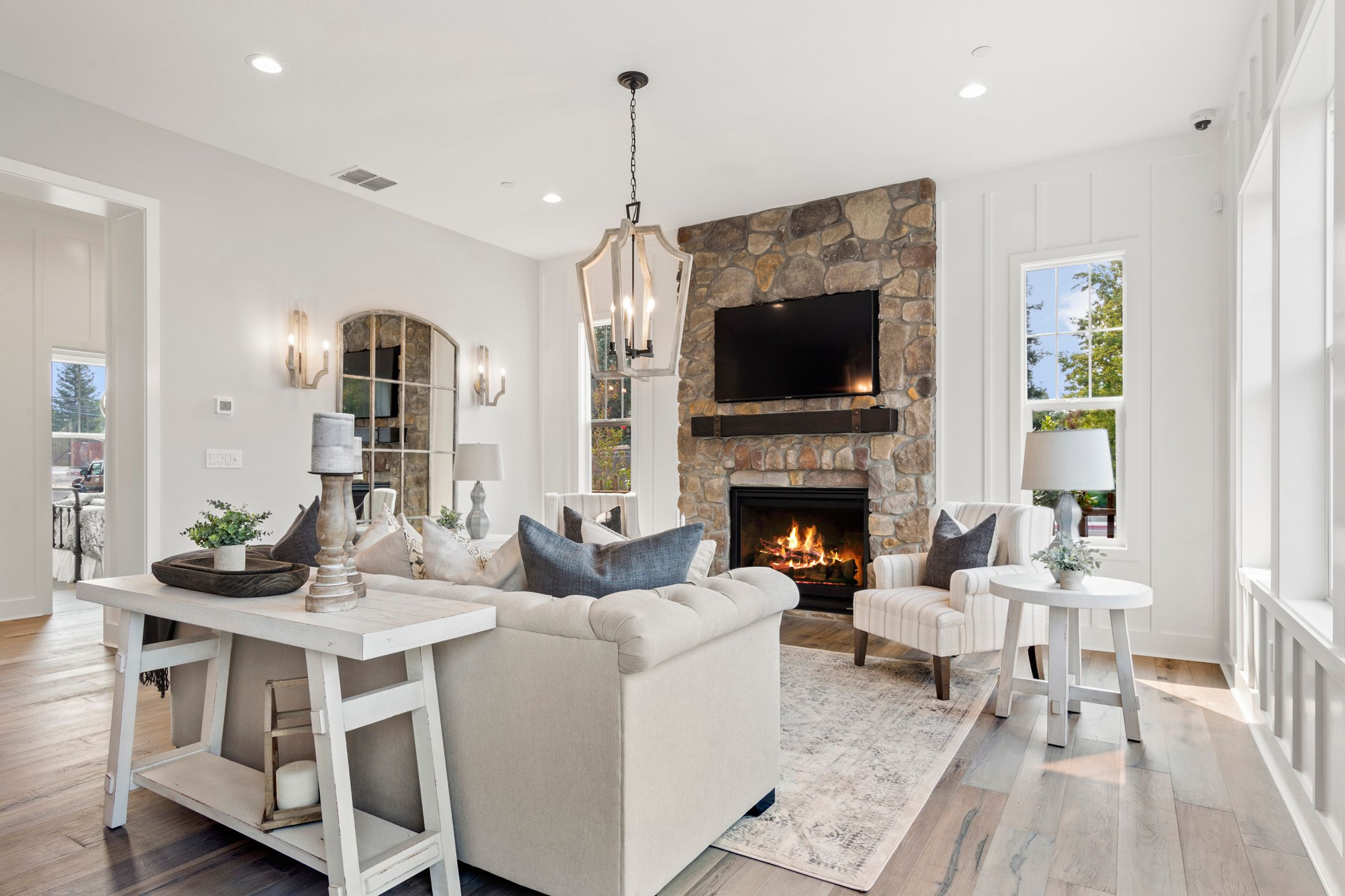 Living Area featured in the Residence 4 By BlackPine Communites in Sacramento, CA