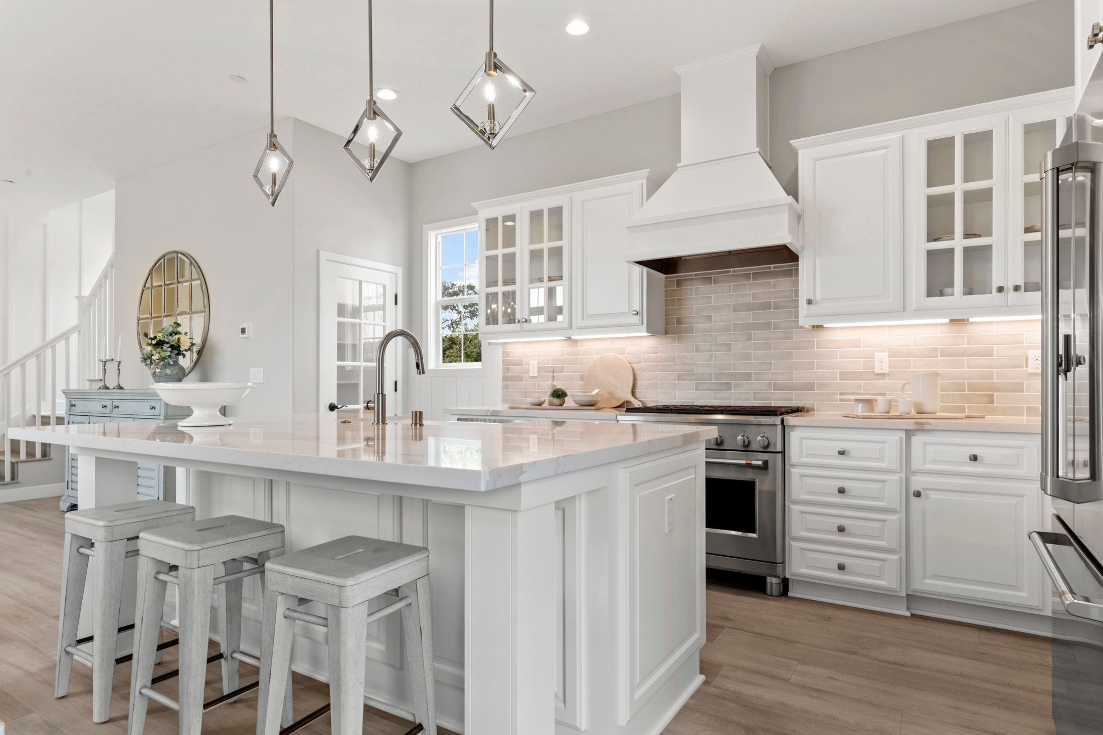 Kitchen featured in the Residence 5 By BlackPine Communites in Sacramento, CA
