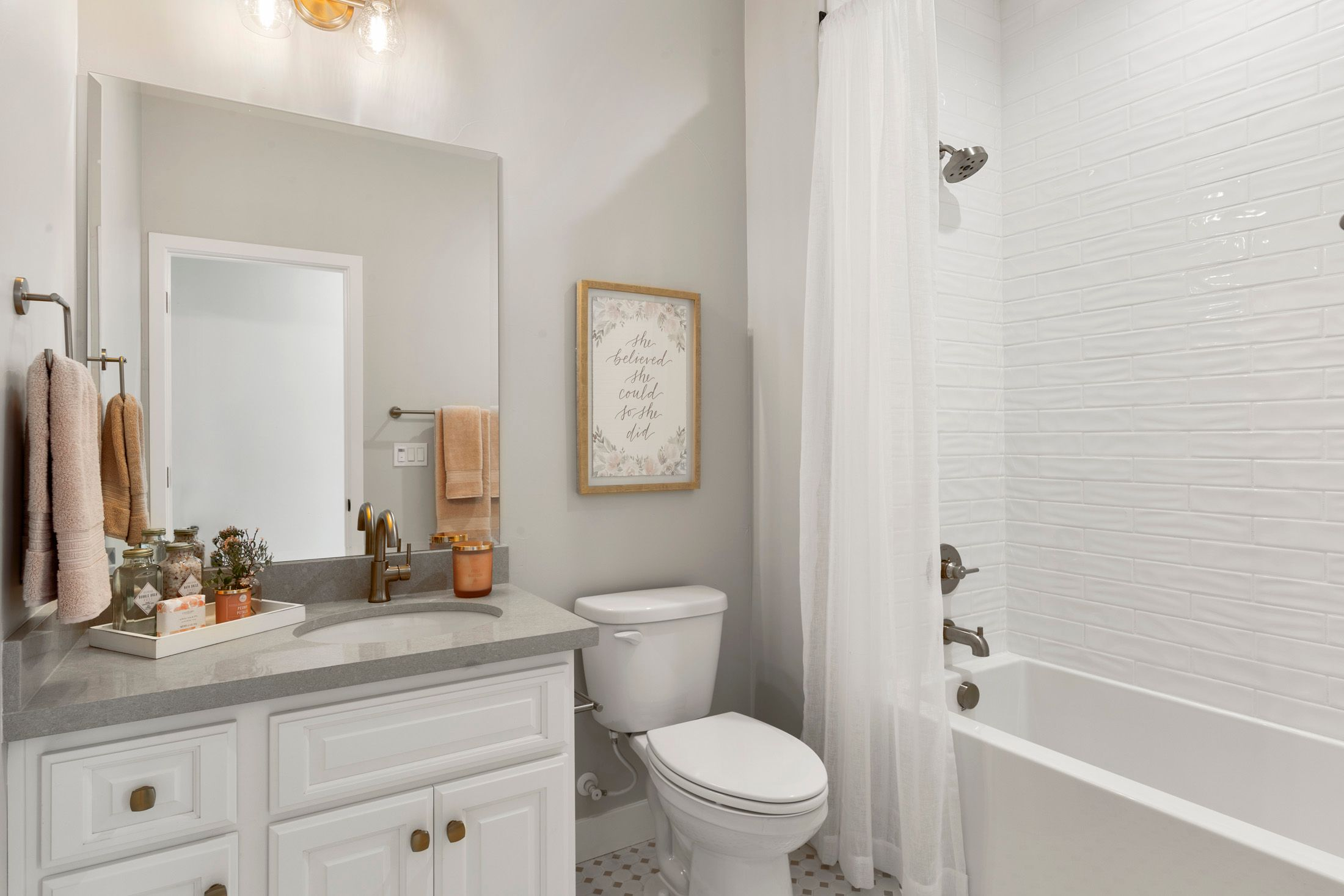 Bathroom featured in the Residence 5 By BlackPine Communites in Sacramento, CA