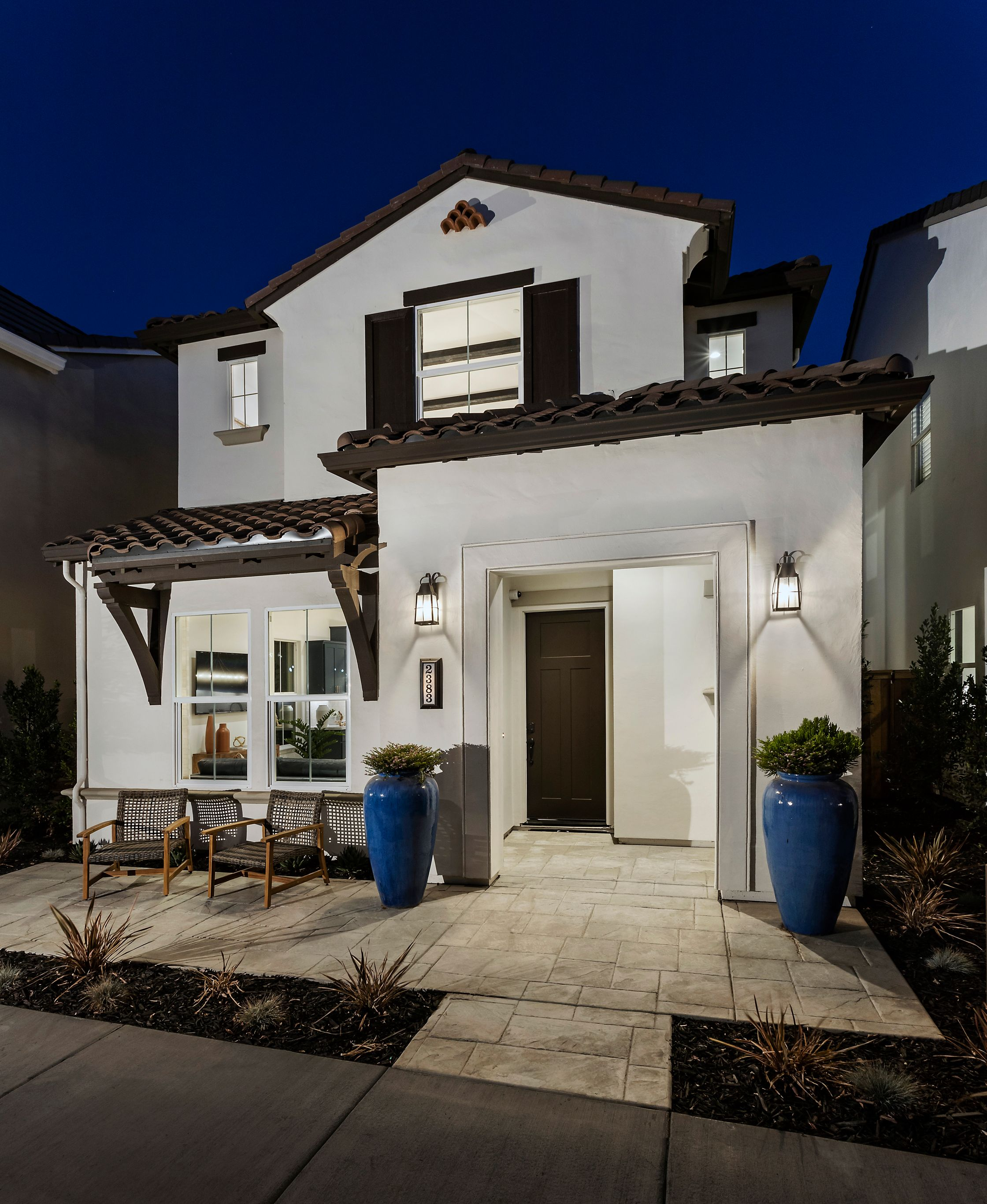 Exterior featured in the Village Courts Collection Residence 9 By BlackPine Communites