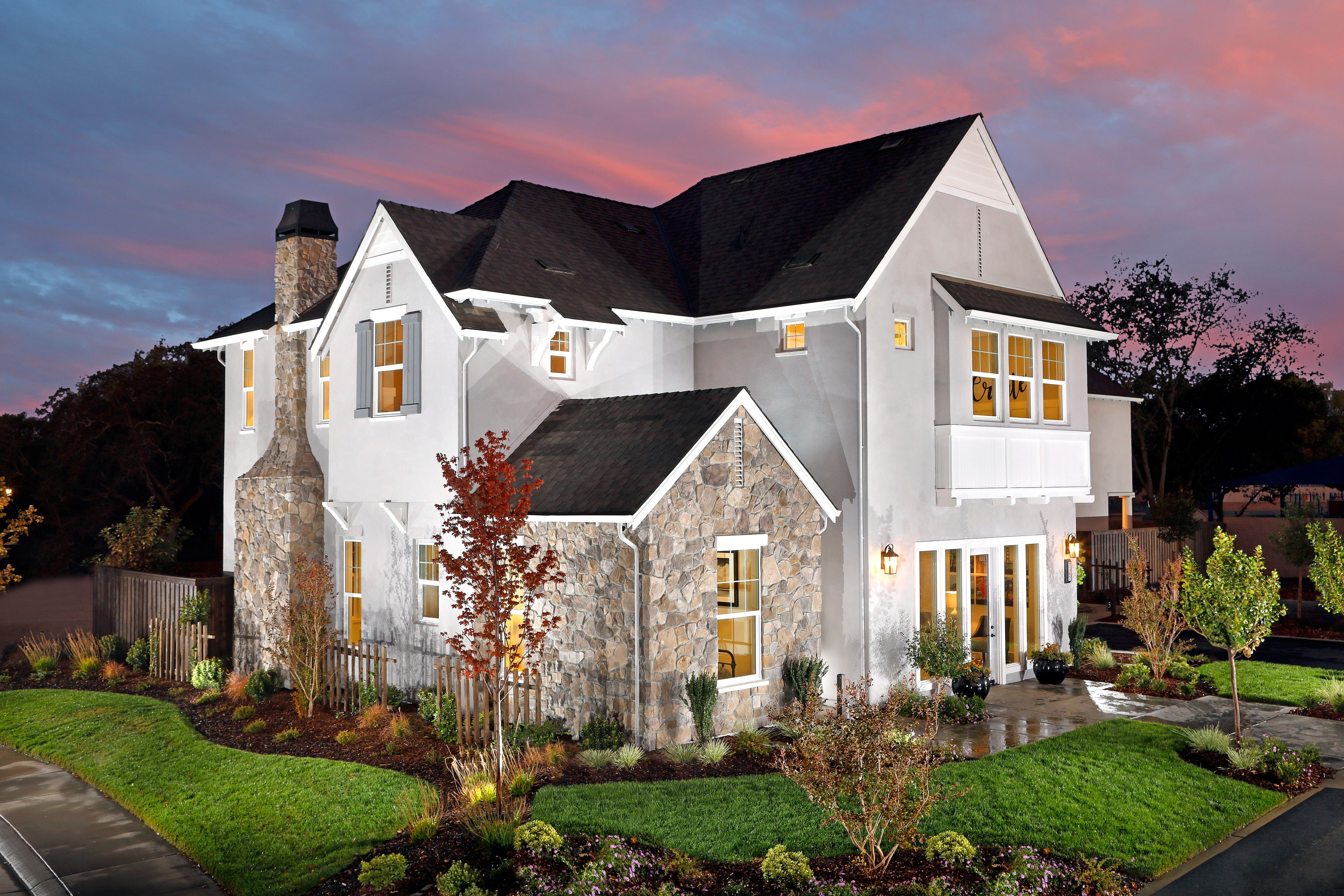 Exterior featured in the Residence 4 By BlackPine Communites in Sacramento, CA