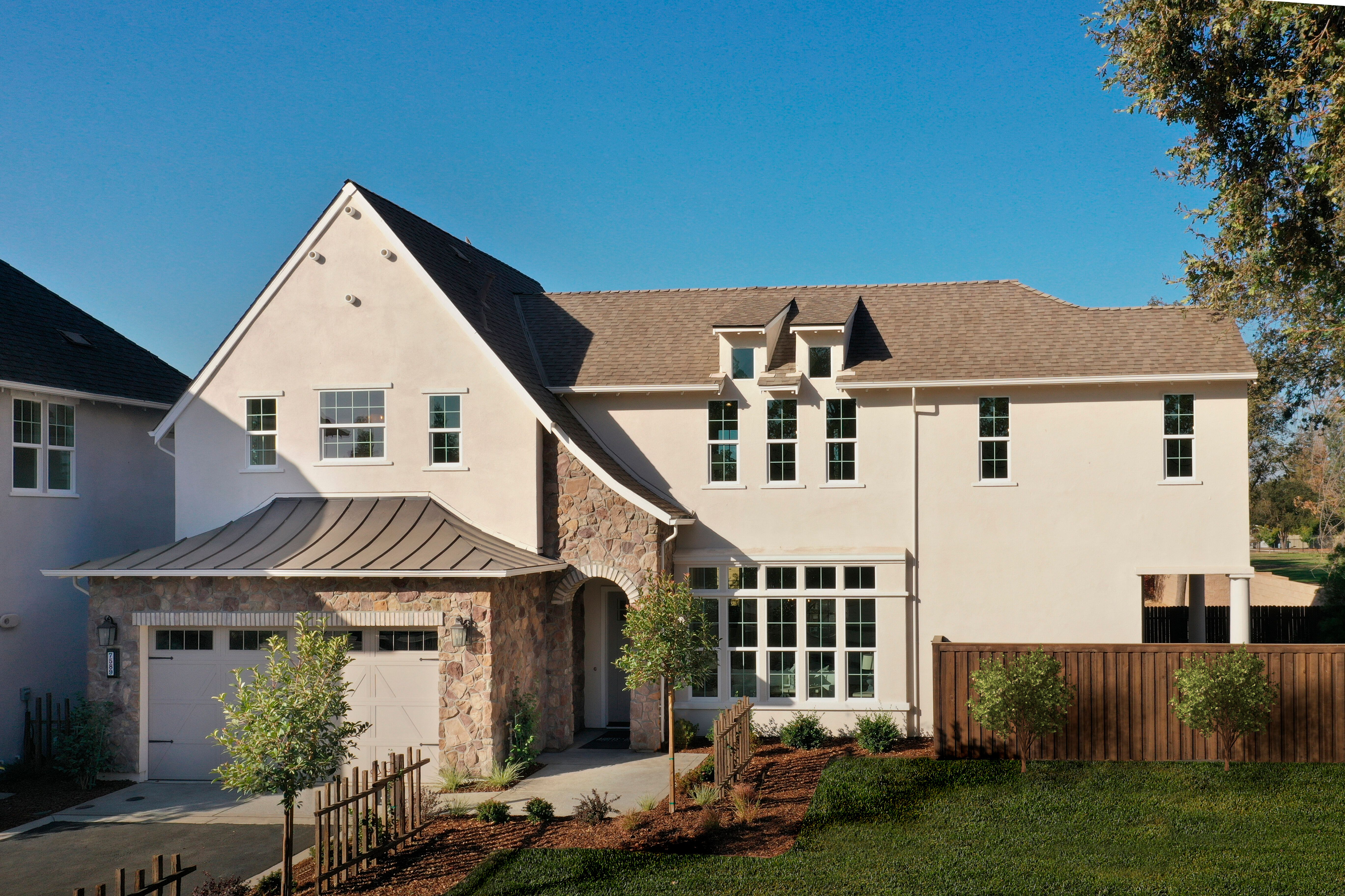 Exterior featured in the Residence 5 By BlackPine Communites in Sacramento, CA
