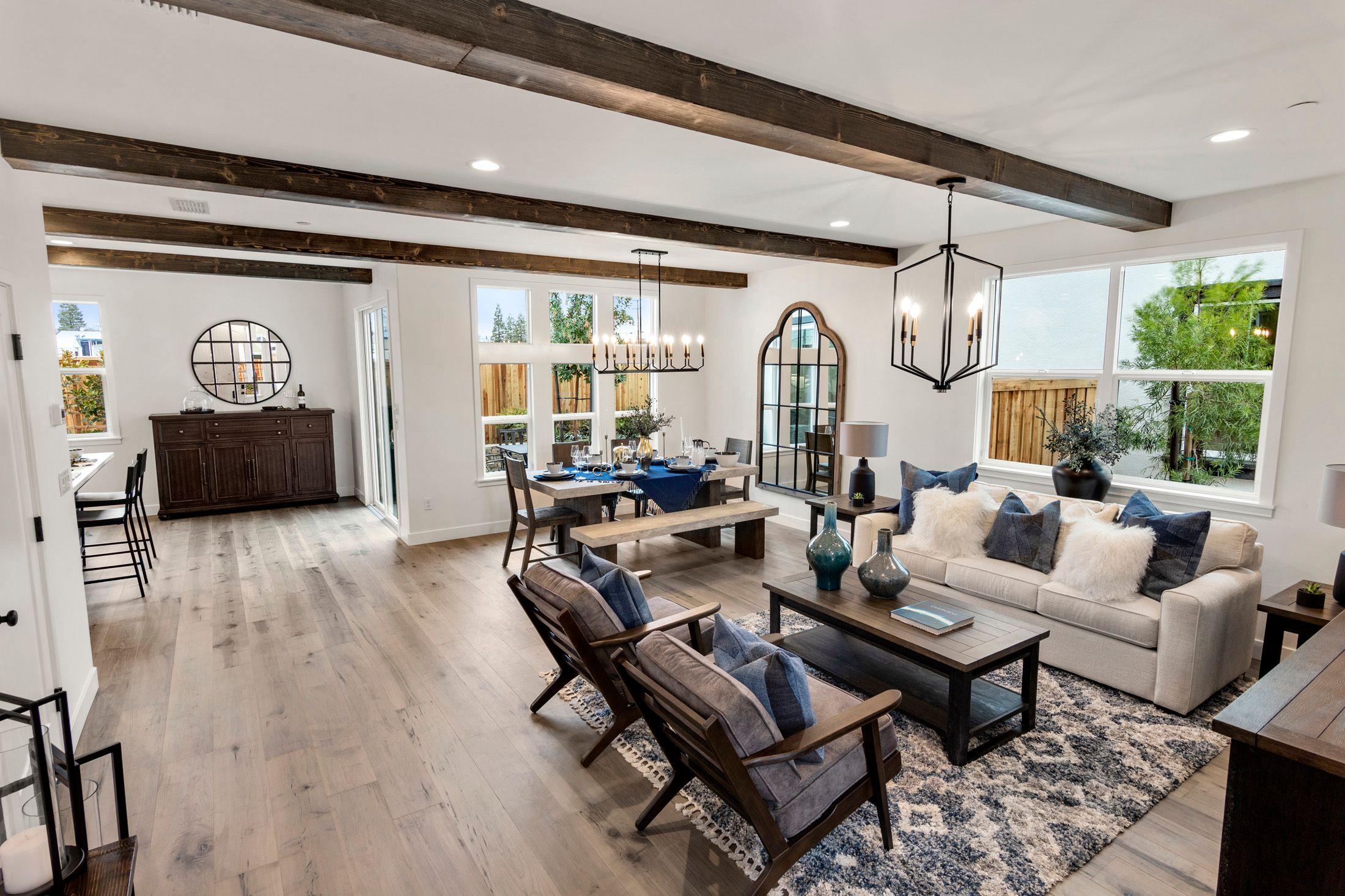 Living Area featured in the Millstone Residence 3 By BlackPine Communites in Sacramento, CA