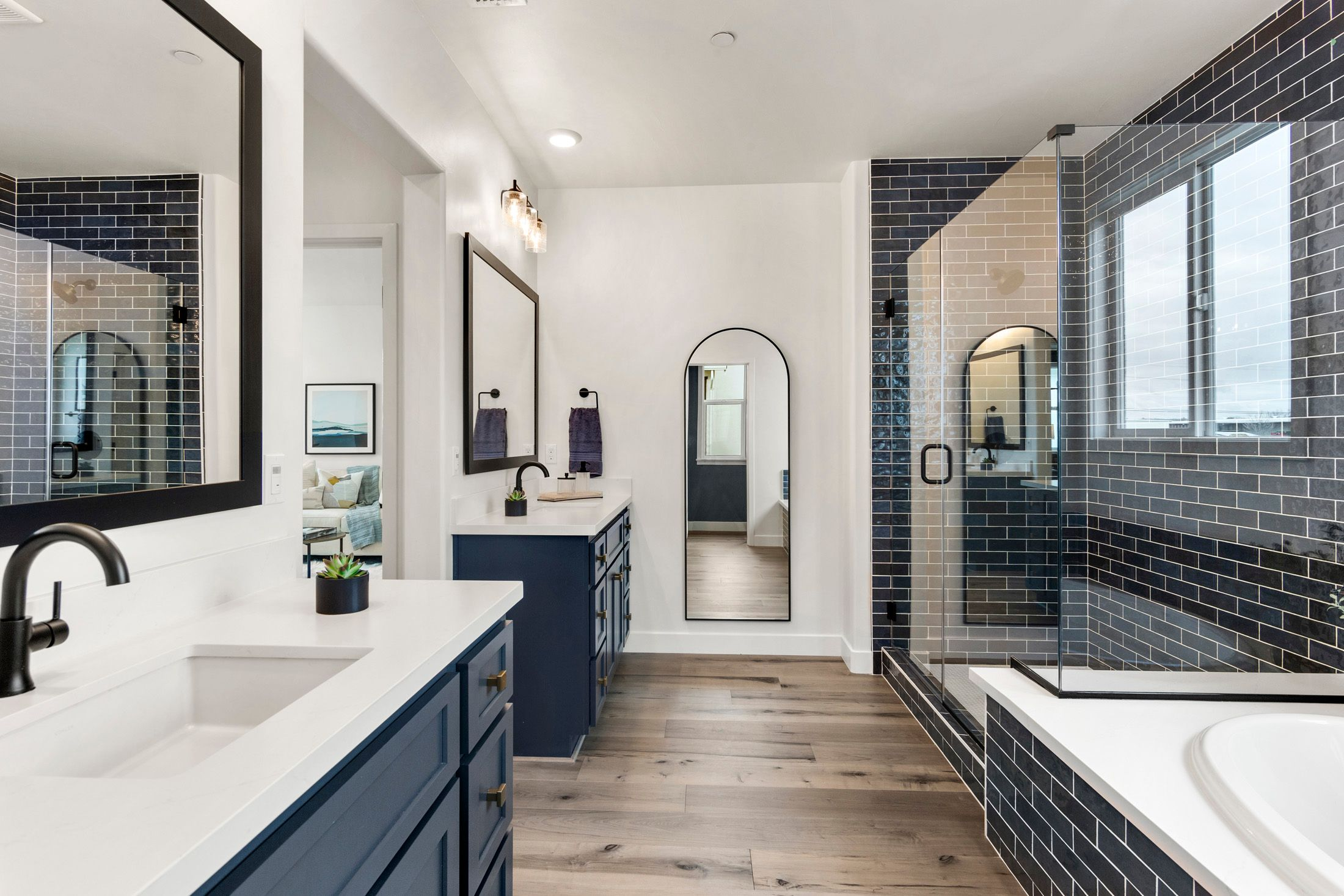 Bathroom featured in the Millstone Residence 3 By BlackPine Communites in Sacramento, CA