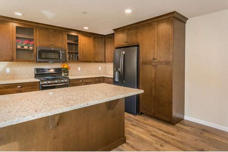 Kitchen-in-Plan 1-at-Black Hill Villas-in-Morro Bay