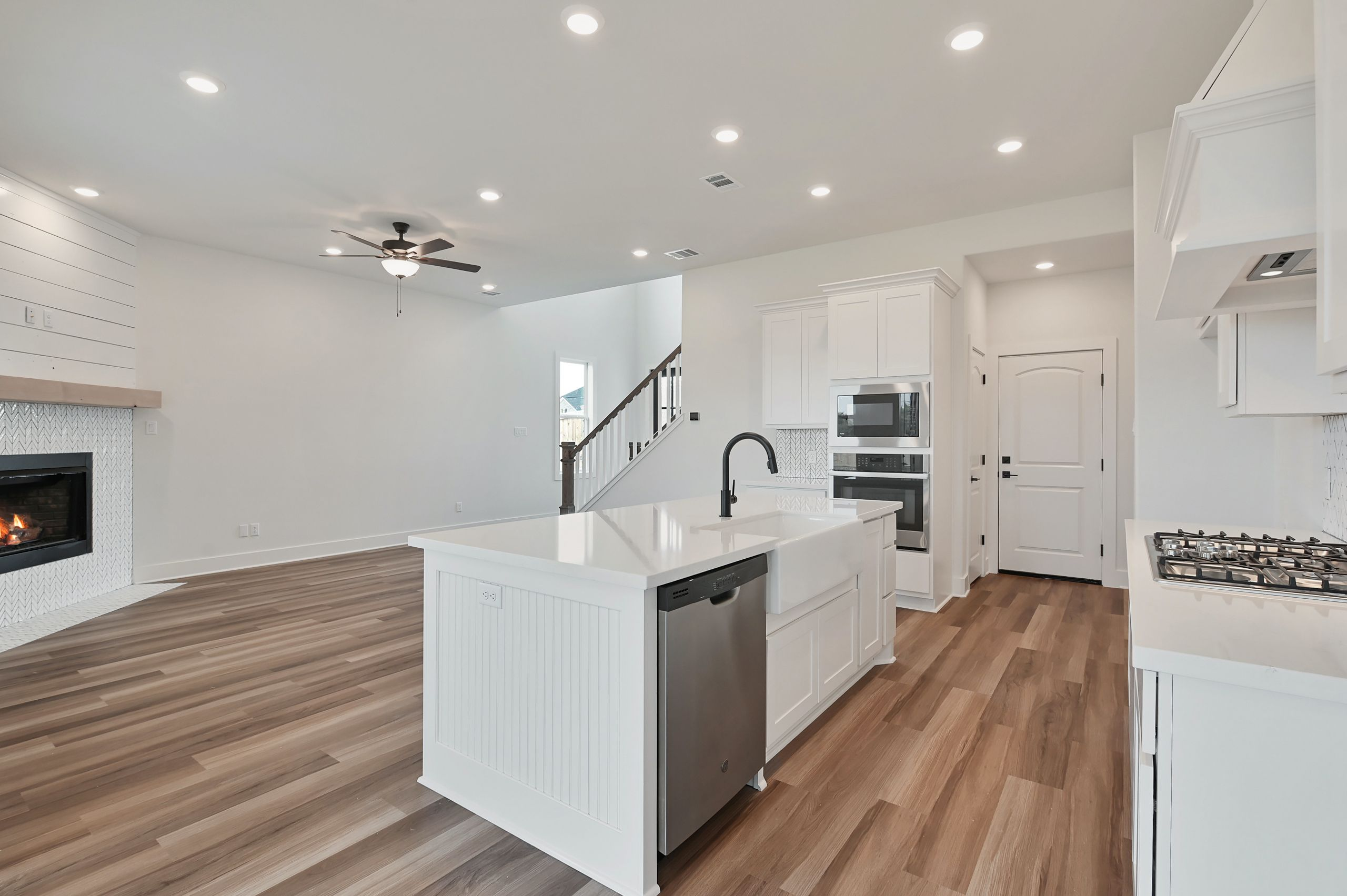 Kitchen featured in the Darwood By Blackstone Homes in Bryan-College Station, TX