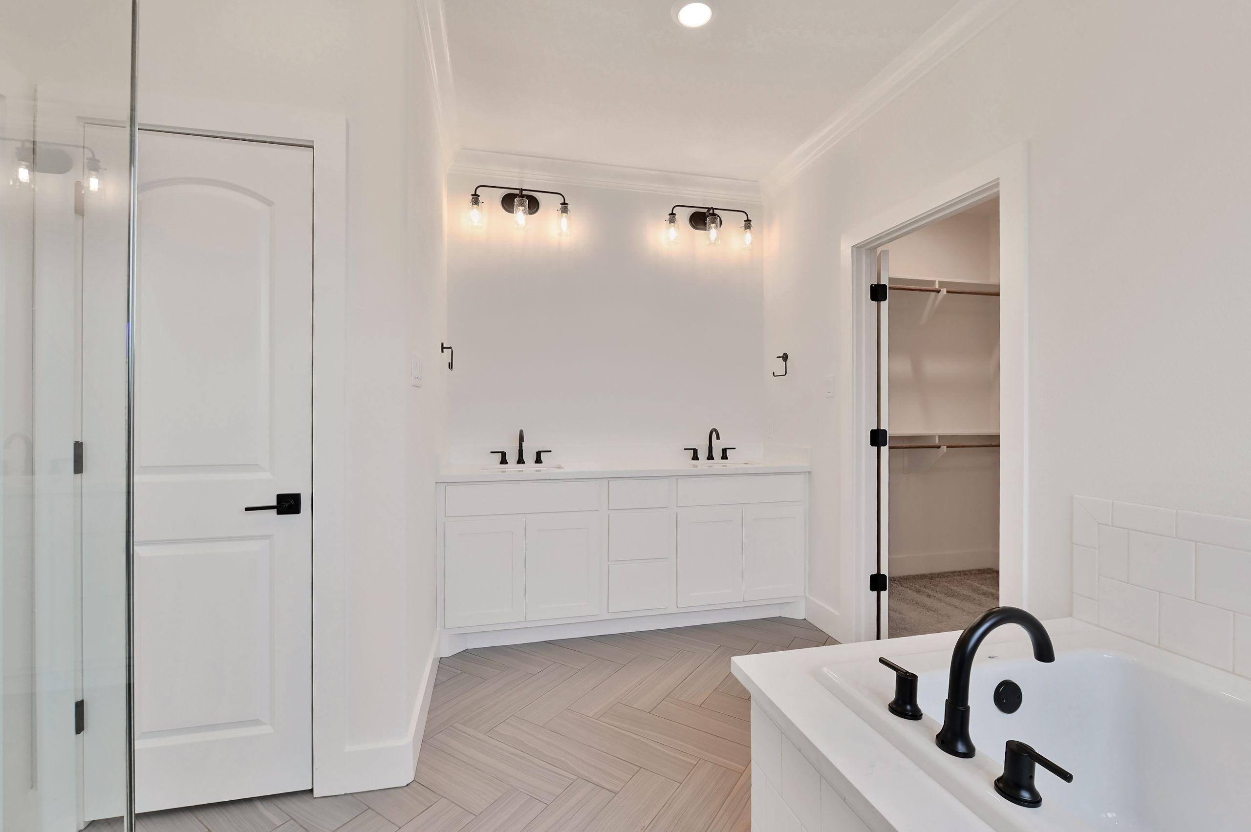 Bathroom featured in the Darwood By Blackstone Homes in Bryan-College Station, TX