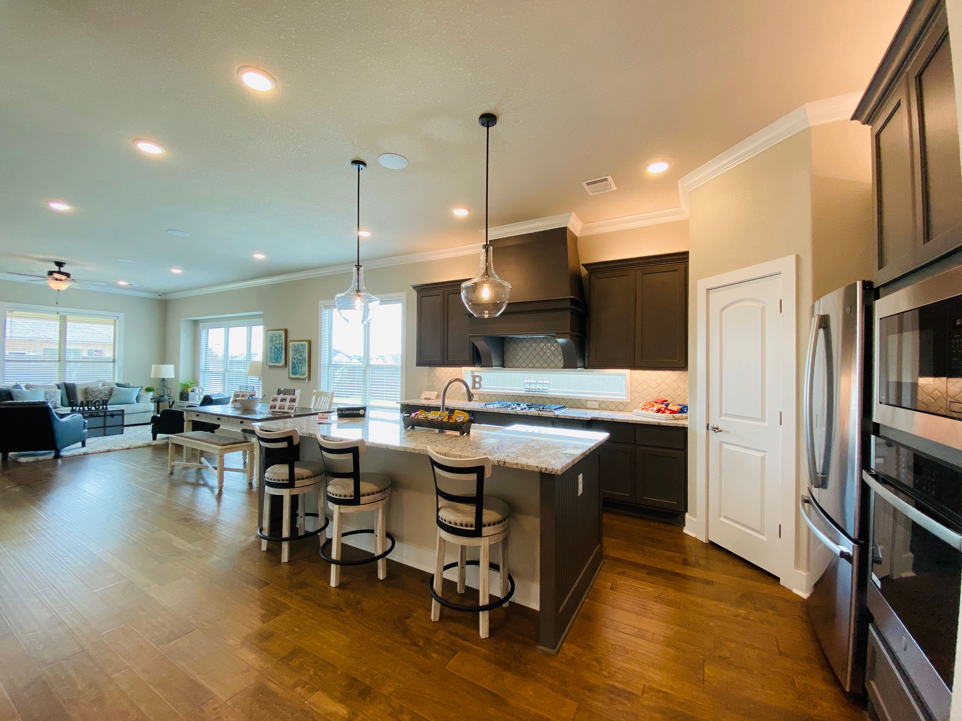 Kitchen featured in the Lindy By Blackstone Homes in Bryan-College Station, TX