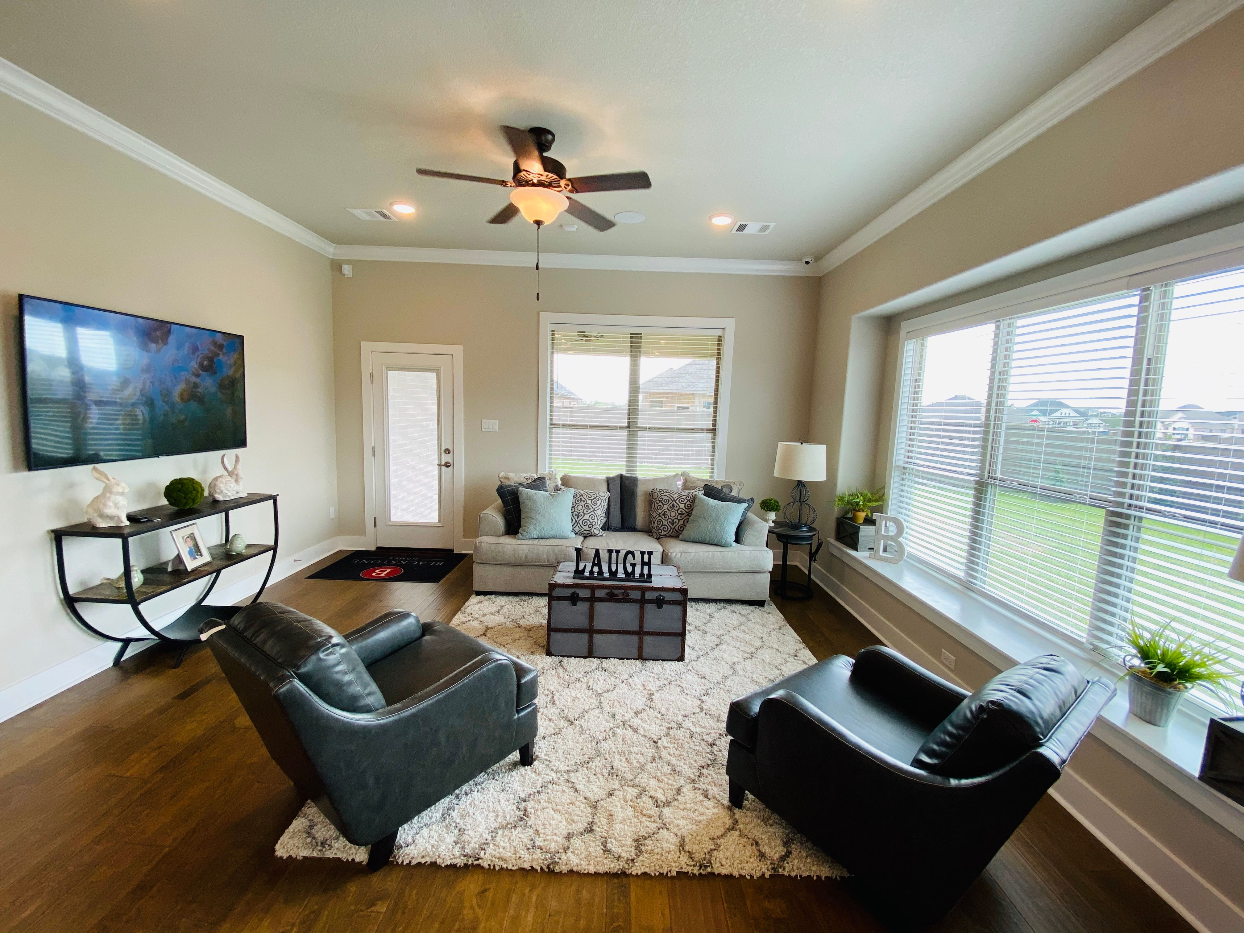 Living Area featured in the Lindy By Blackstone Homes in Bryan-College Station, TX