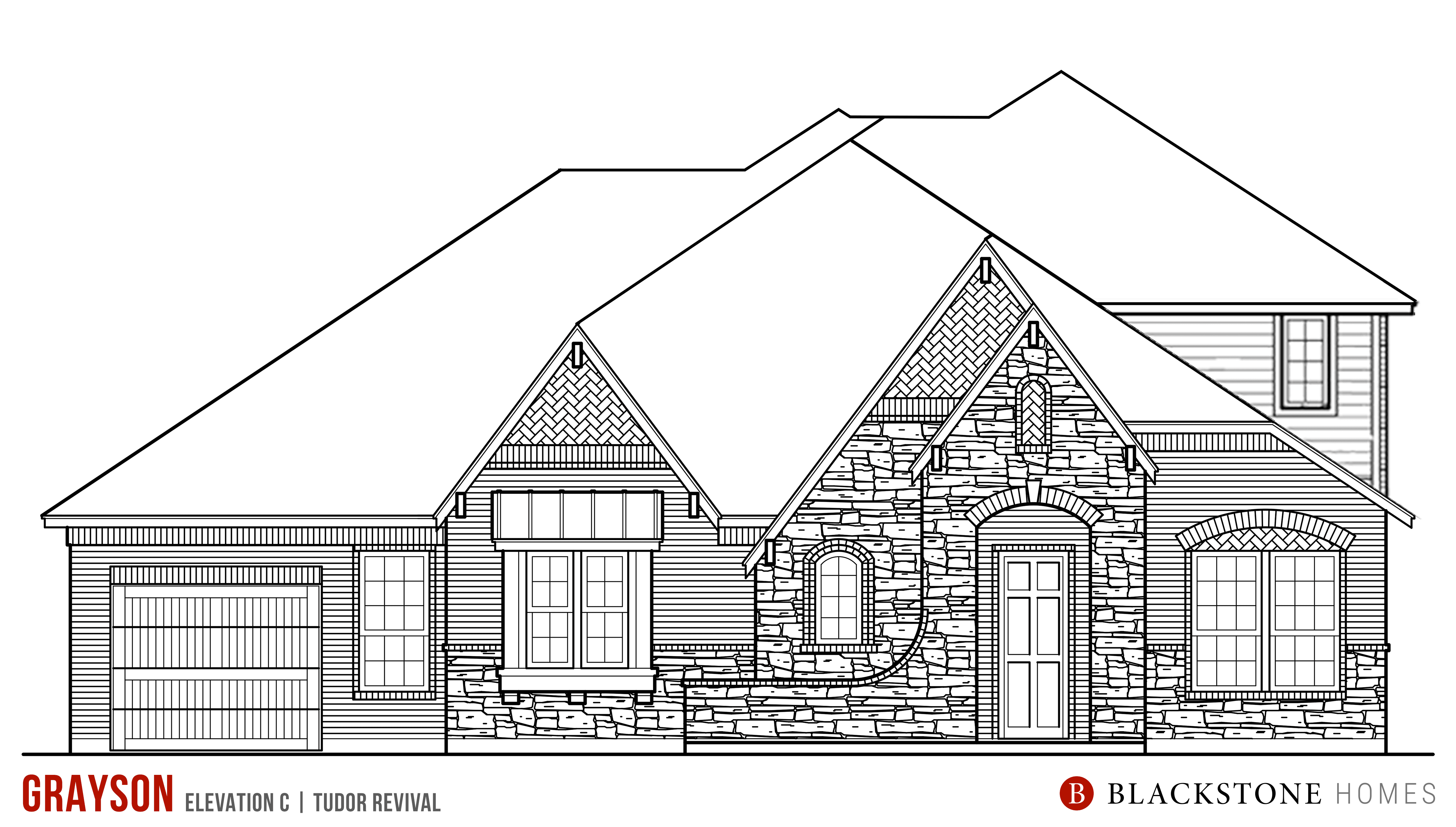 Exterior featured in the Grayson By Blackstone Homes in Bryan-College Station, TX