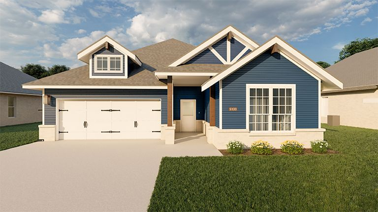 Exterior featured in the Jackson By Blackstone Homes in Bryan-College Station, TX