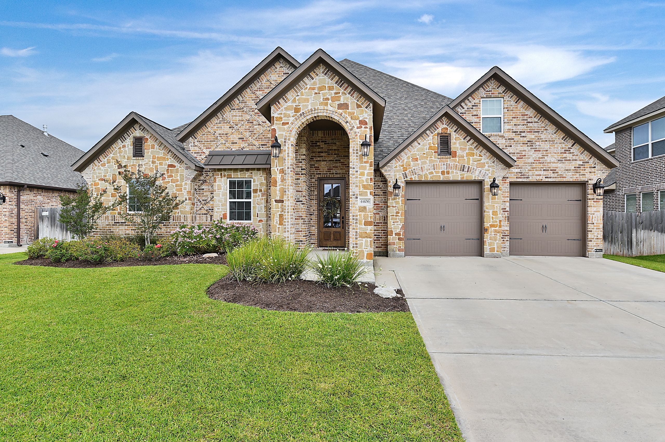 Exterior featured in the 4406 Uphor Court By Blackstone Homes in Bryan-College Station, TX