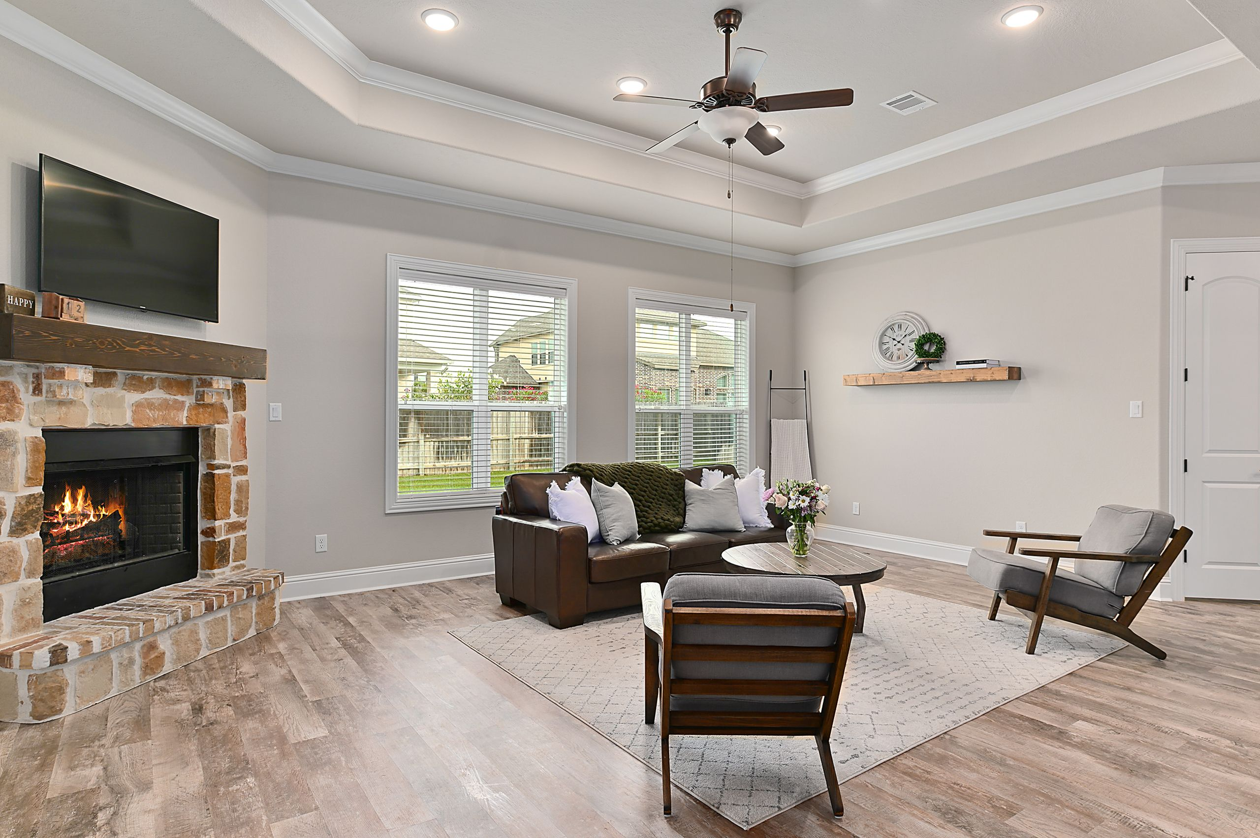 Living Area featured in the 4406 Uphor Court By Blackstone Homes in Bryan-College Station, TX