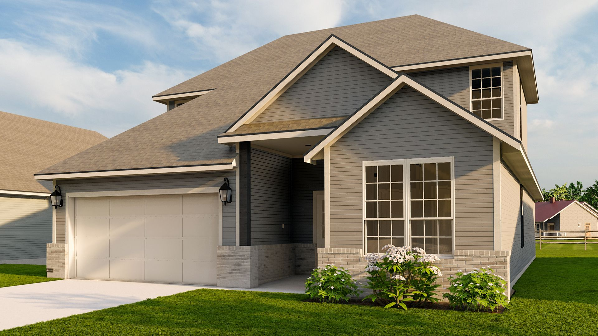 Exterior featured in the Juniper By Blackstone Homes in Bryan-College Station, TX