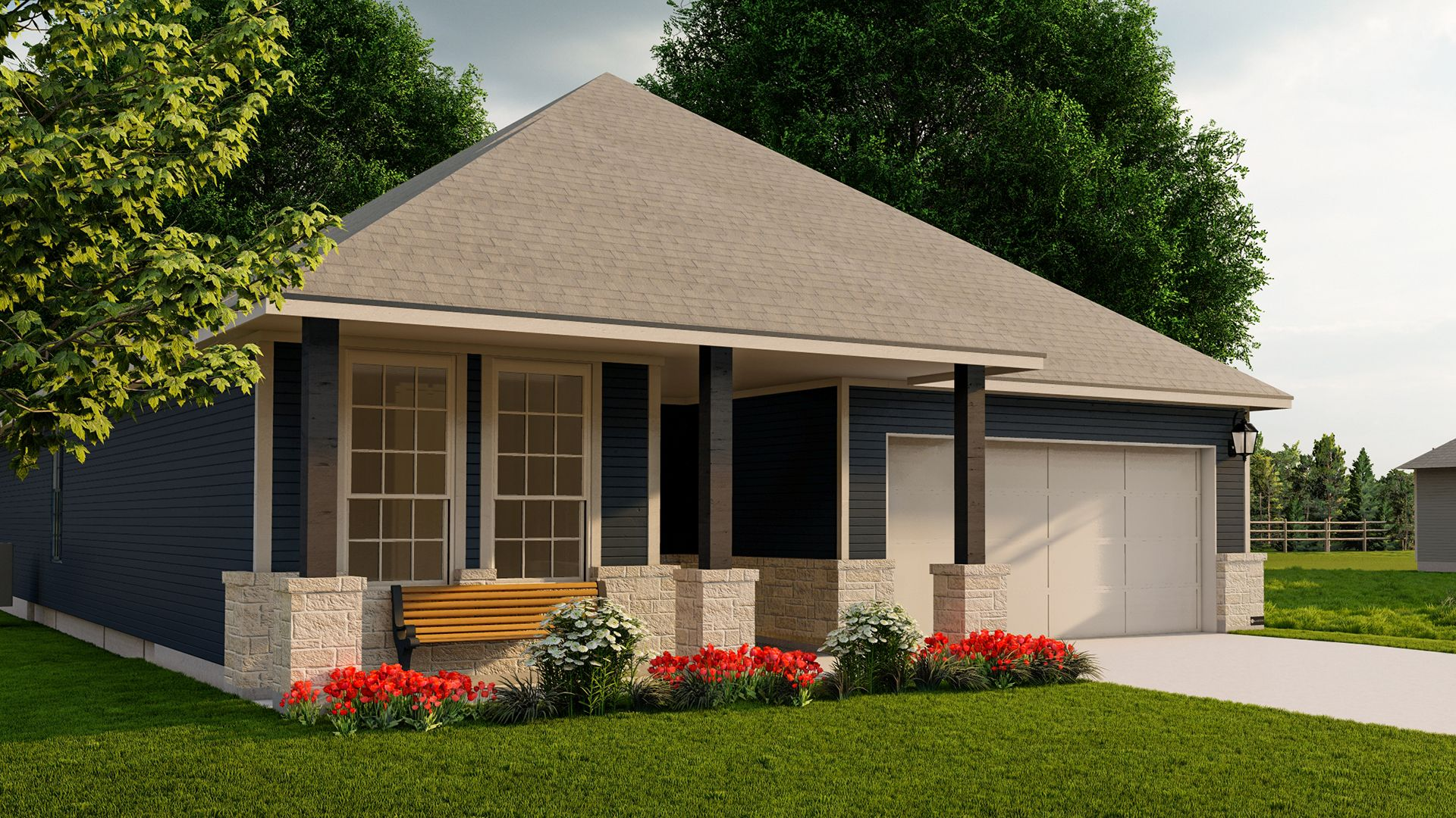 Exterior featured in the Engelmann By Blackstone Homes in Bryan-College Station, TX