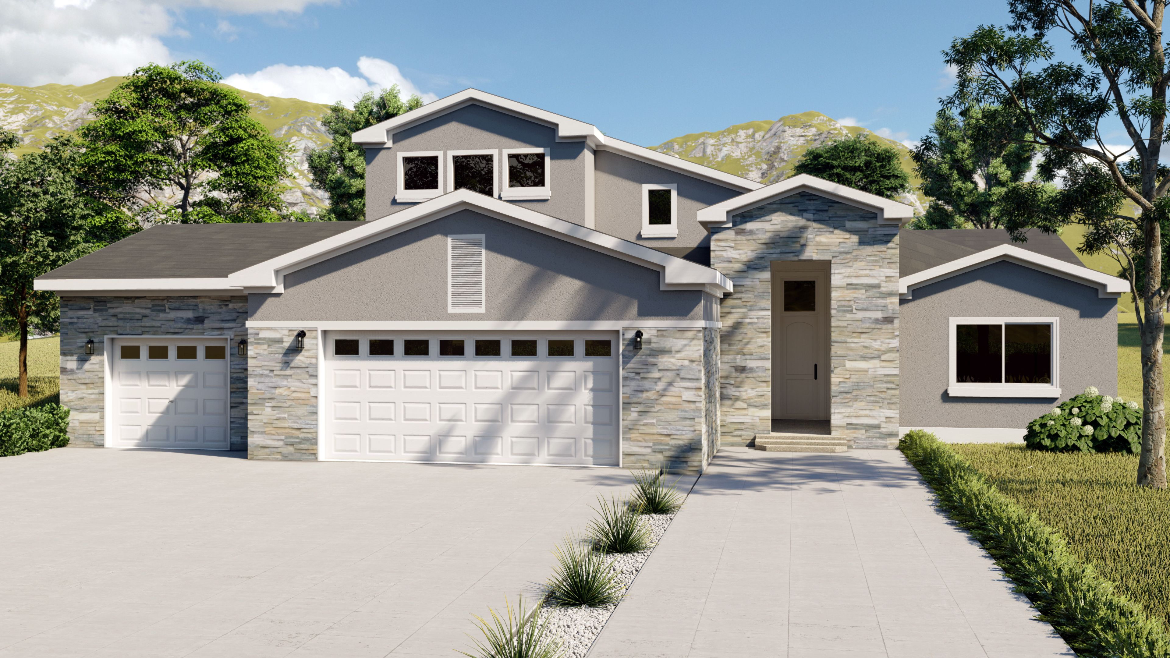 Exterior featured in the Peak By Black Oak Homes in Colorado Springs, CO