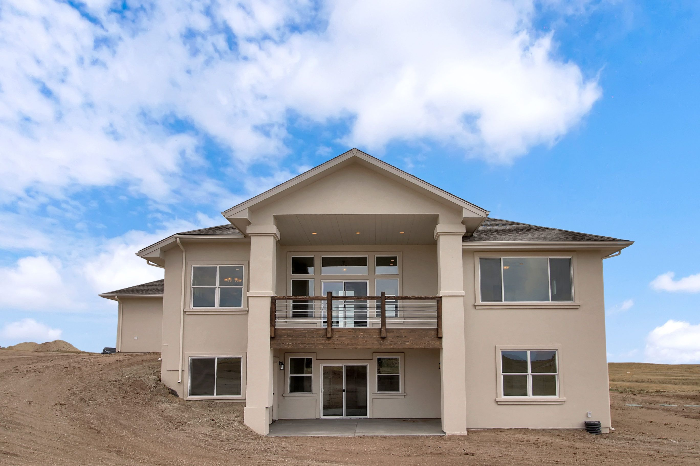Exterior featured in the Brooklyn By Black Oak Homes in Colorado Springs, CO