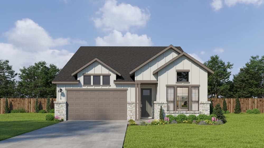 Exterior featured in the Spruce By Blackburn Homes in Austin, TX