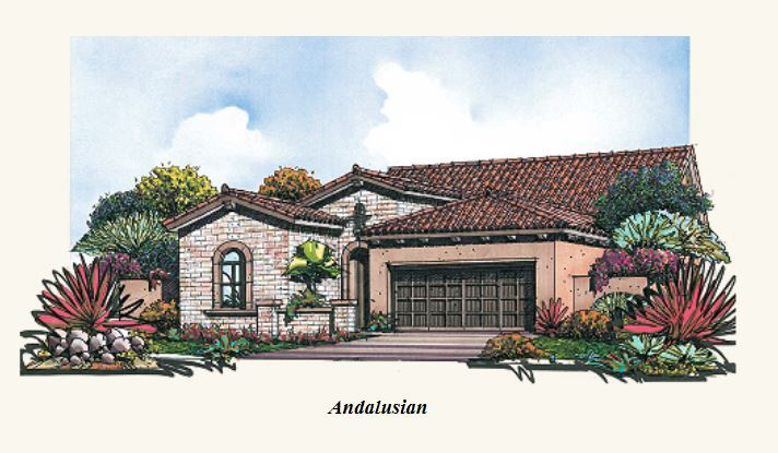 Craftsman Andalusian Elevation