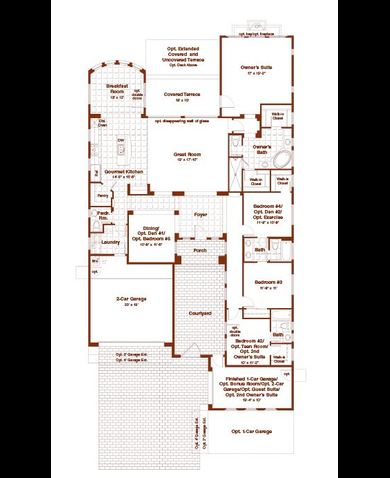 Blandford homes mountain bridge floor plans home review for Blandford homes floor plans