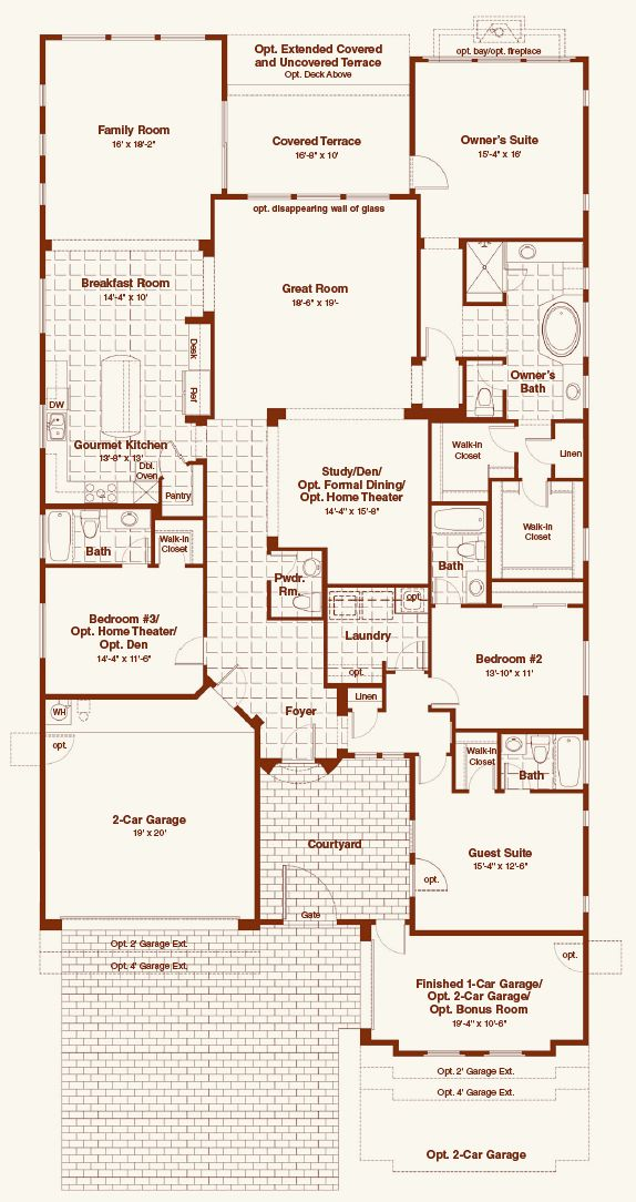 Blandford Homes Sagewood Floor Plan Gurus Floor