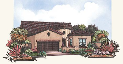 Mountain Bridge In Mesa Az New Homes Floor Plans By