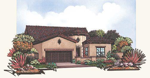 Residence 2 Plan, Mesa, Arizona 85207