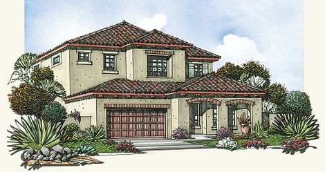 Mountain bridge in mesa az new homes floor plans by for Blandford homes floor plans