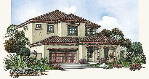 Residence 3 Plan, Mesa, Arizona 85207
