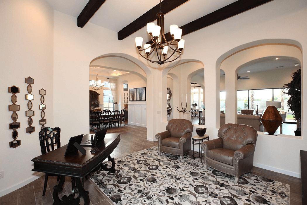 Living Area featured in the Residence 7 By Blandford Homes in Phoenix-Mesa, AZ