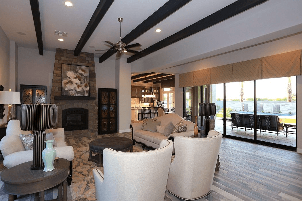 Living Area featured in the Residence 8 By Blandford Homes in Phoenix-Mesa, AZ