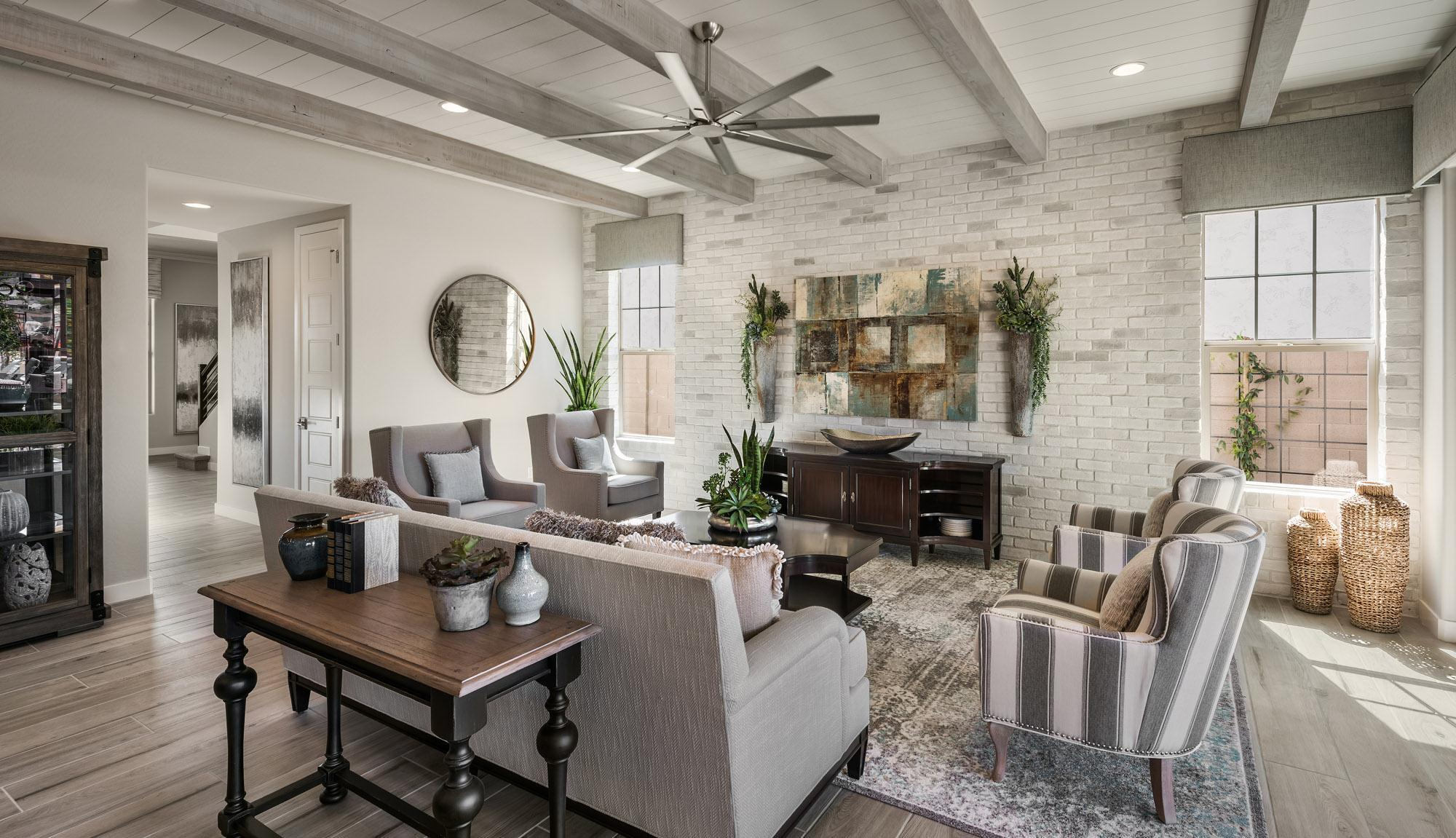 Living Area featured in the Residence Seven By Blandford Homes in Phoenix-Mesa, AZ