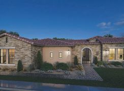 Residence 7 - Estates at Hermosa: Mesa, Arizona - Blandford Homes