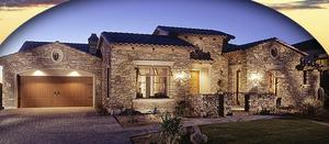 homes in Canyon Preserve by Blandford Homes