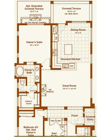 Blandford homes mountain bridge floor plans gurus floor for Mountain bridge floor plans