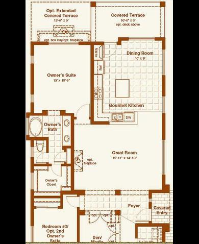 Blandford homes mountain bridge floor plans gurus floor for Blandford homes floor plans