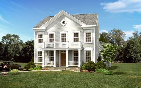 Exterior featured in The Gable By Blenheim Homes, L.P. in Wilmington-Newark, DE