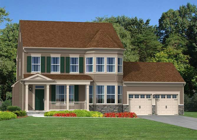 Exterior featured in The Andrews By Blenheim Homes, L.P. in Wilmington-Newark, DE
