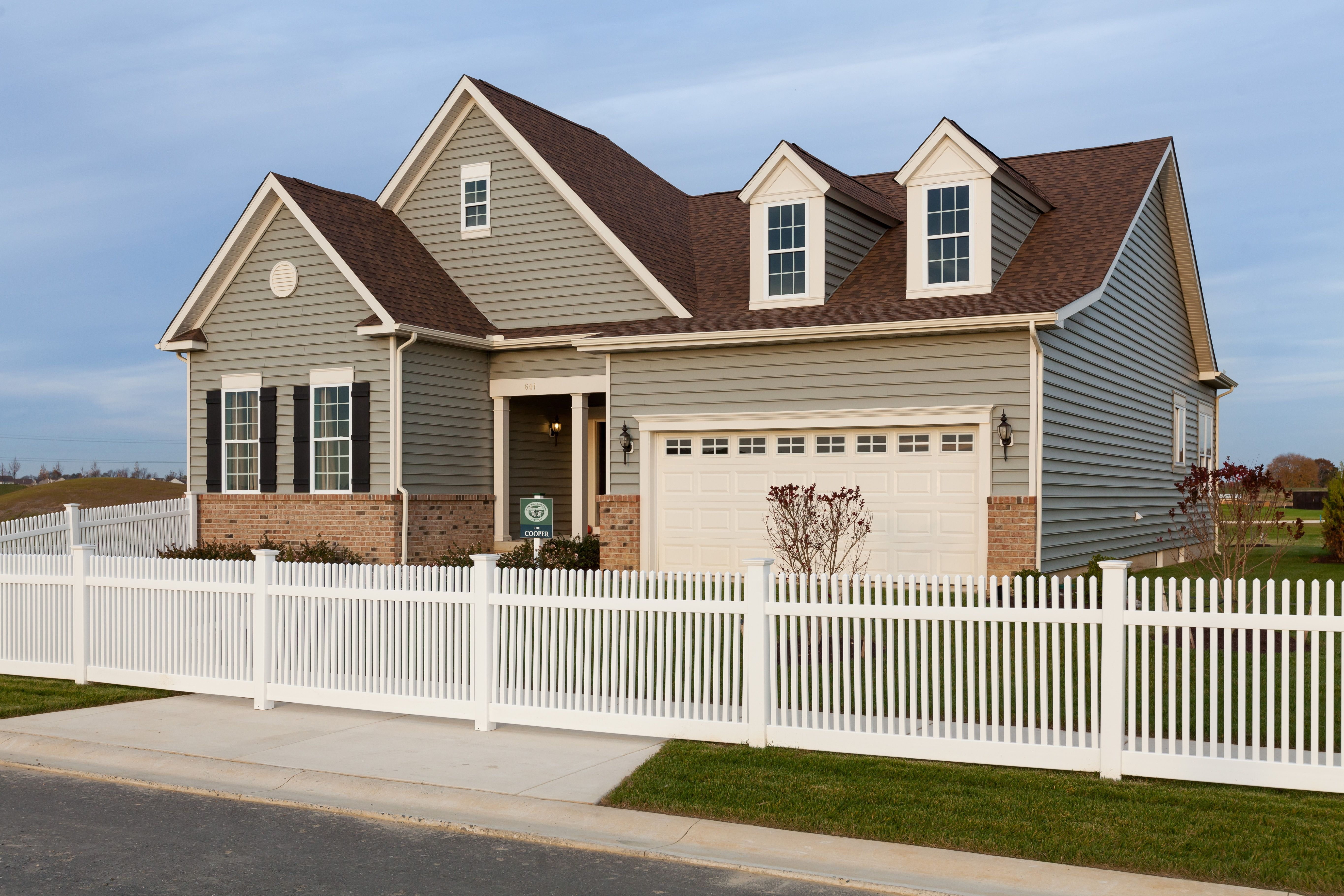 Exterior featured in The Cooper - 55+ By Blenheim Homes, L.P. in Wilmington-Newark, DE