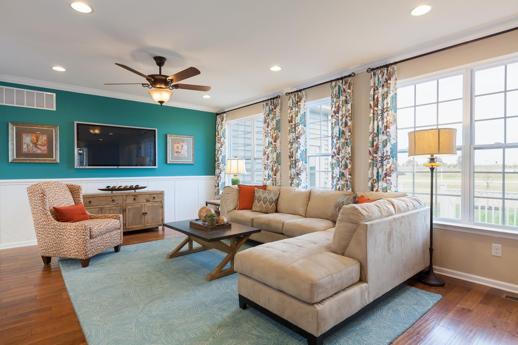 Living Area featured in The Cooper - 55+ By Blenheim Homes, L.P. in Wilmington-Newark, DE