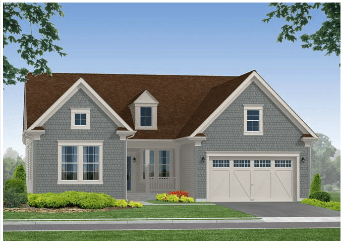 Exterior featured in The Stewart II - 55+ By Blenheim Homes, L.P. in Wilmington-Newark, DE