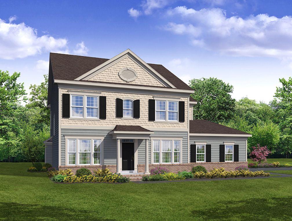 Exterior featured in The Adams By Blenheim Homes, L.P. in Wilmington-Newark, DE
