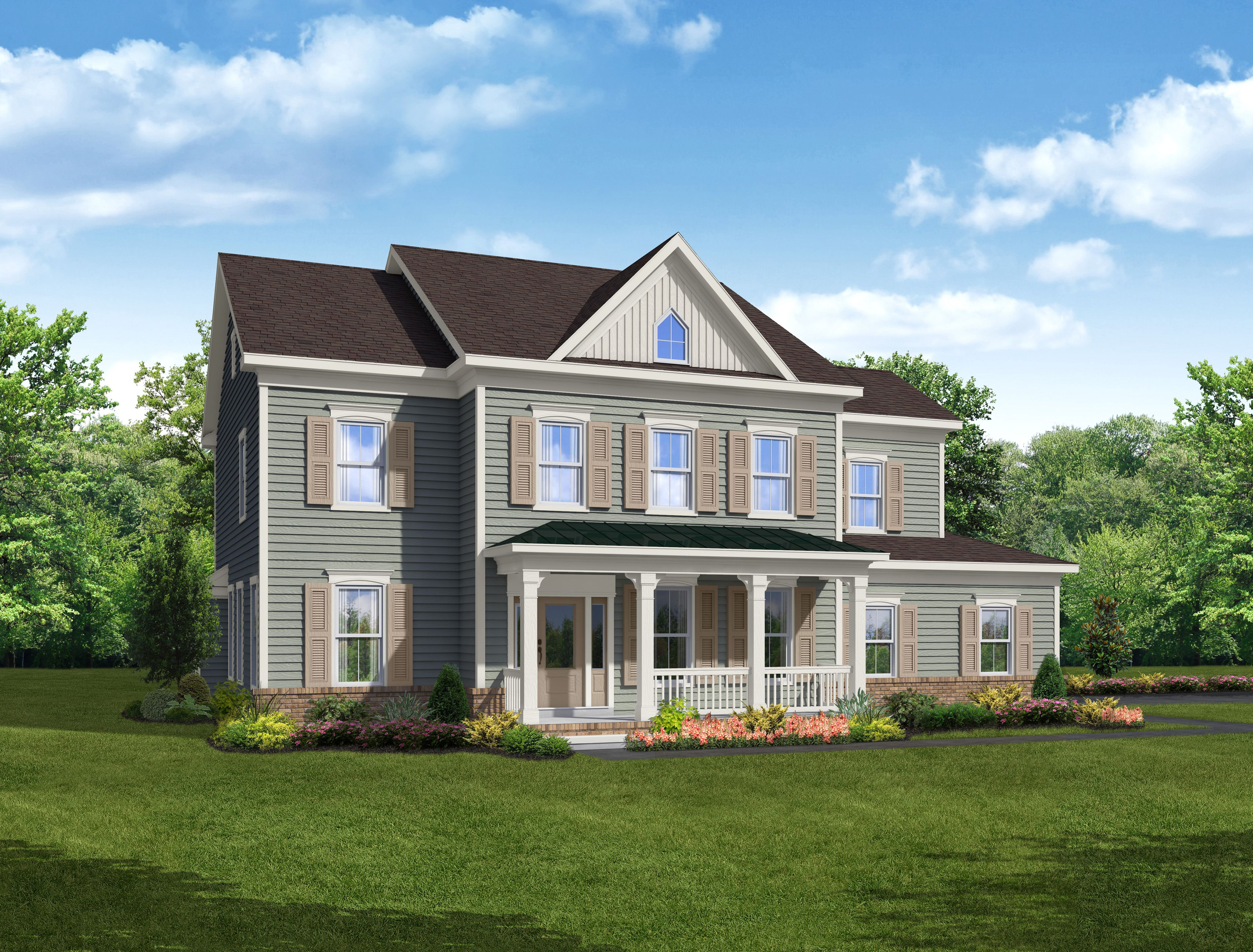 Exterior featured in The Carter By Blenheim Homes, L.P. in Wilmington-Newark, DE