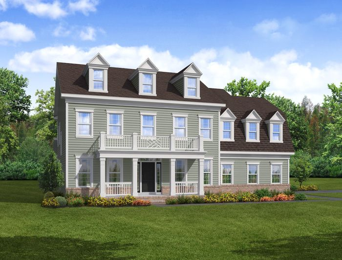 Exterior featured in The Grant By Blenheim Homes, L.P. in Wilmington-Newark, DE